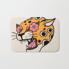 Cheetah Bath Mat