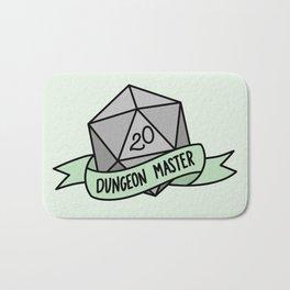 Dungeon Master D20 Bath Mat
