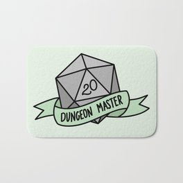 Dungeon Master D20 Bath Mat