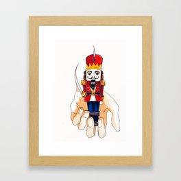 The christmas Nutcracker Framed Art Print