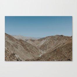 Jacumba Mountains pt 2 Canvas Print