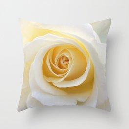 Yellow Rose | Flower Photography | Spring | Summer | Art Prints Throw Pillow