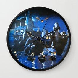 Gogwarts Wall Clock
