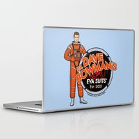 suits Laptop & iPad Skins featuring Dr. Dave Bowman's EVA Suits by Doodle Dojo