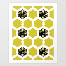 Busy as can Bee Art Print