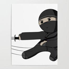 Ninja Swing Poster