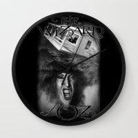 oz Wall Clocks featuring Oz by Magdalena Almero