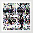 Abstract 8 Bit Pattern by studiodestruct