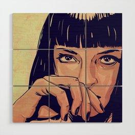 Mia Wallace Wood Wall Art