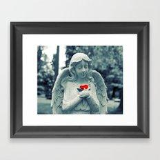 Forever loved Framed Art Print