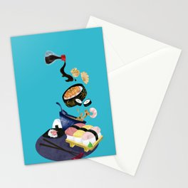 Food of Japan Stationery Cards