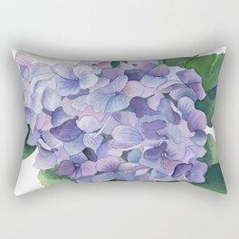French Hydrangea Rectangular Pillow