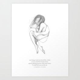 sketch Art Print