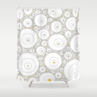 eggs Shower Curtains featuring Eggs by Alisa Galitsyna