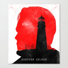 Shutter Island - Movie Poster Canvas Print