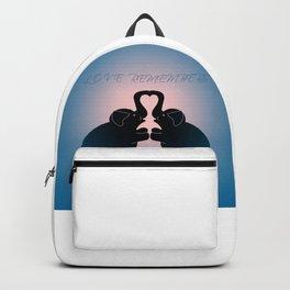 """Love Remembers"" Backpack"