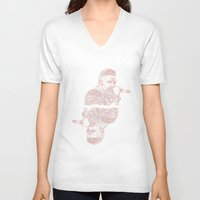 liam payne V-neck T-shirts featuring Liam by heyitsmme