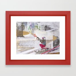 Takeover Framed Art Print