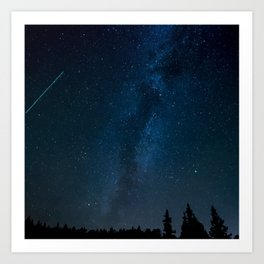 Night Sky Picture Art Print