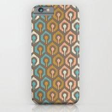 Honeycomb IKAT - Cocoa iPhone 6s Slim Case