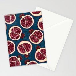 Pomegranate slices Stationery Cards