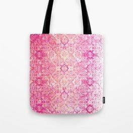 Pink Metallic Ombre Tote Bag
