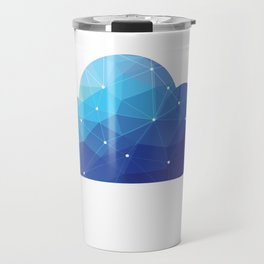 Cloud Of Data Travel Mug