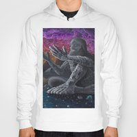 atlas Hoodies featuring Atlas by Drake Arnold Art