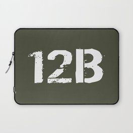 12B Combat Engineer Laptop Sleeve