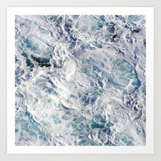 Seafoam Pacific Art Print