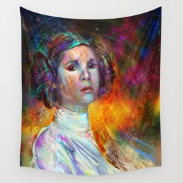A Long Time Ago... There Was A Princess. Wall Tapestry