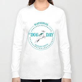 National Dog Day Long Sleeve T-shirt