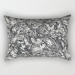 Doodle thingy 2.0 Rectangular Pillow
