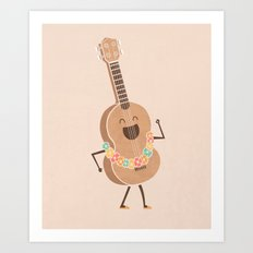 Always Happy Art Print