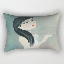 Ballerine Blanche Rectangular Pillow