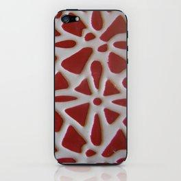 Red Stone Path iPhone Skin