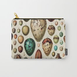 Eggs Vintage Poster by Adolphe Millot Carry-All Pouch