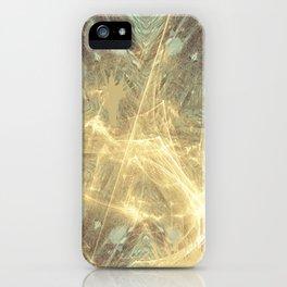 Kaos theory mandala iPhone Case