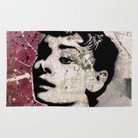 audrey Area & Throw Rugs featuring Audrey by f_e_l_i_x_x