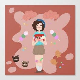 Japanese Treat Box Canvas Print