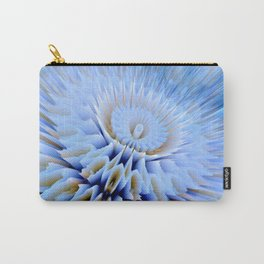 Blue 3D essence of a mandala Carry-All Pouch