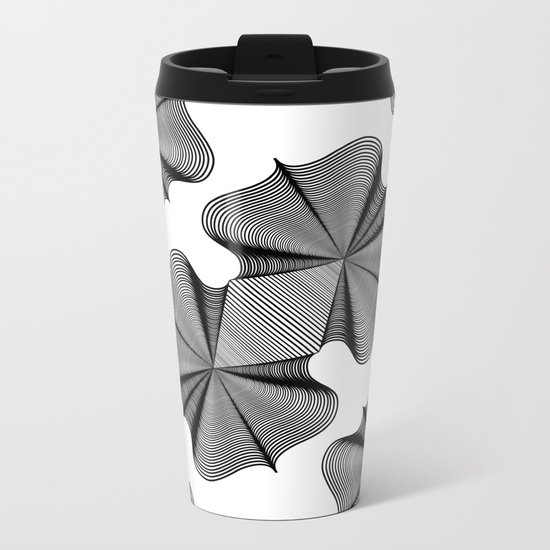 In Two Places at Once Metal Travel Mug
