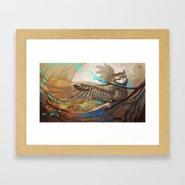 Dream Owl Framed Art Print
