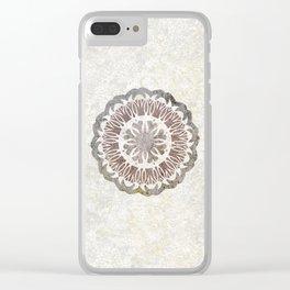 Shared love mandala Clear iPhone Case