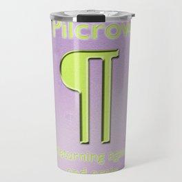 Pilcrow –Returning again and again Travel Mug