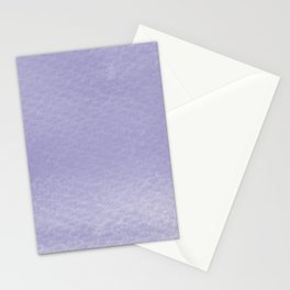 Gradient watercolor - ultra violet Stationery Cards