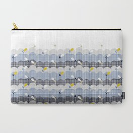 retro flower field 2 Carry-All Pouch