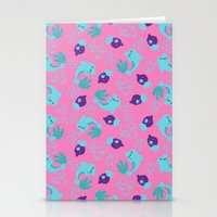 dolphins Stationery Cards featuring dolphins by lindseyclare