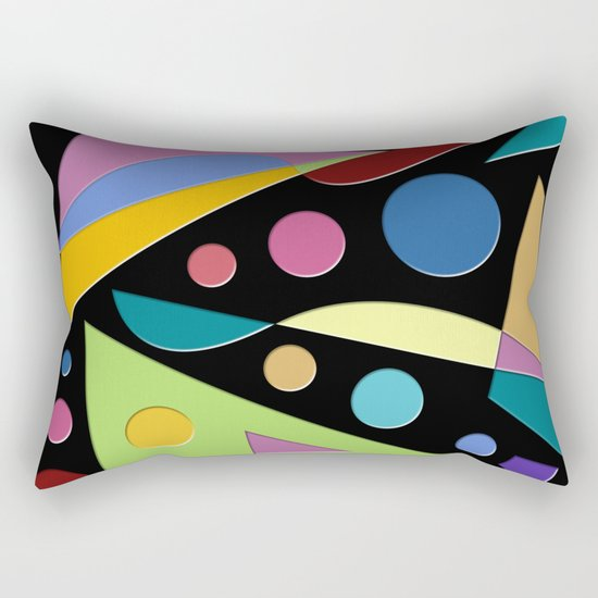 Abstract #315 Rectangular Pillow