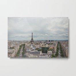 Romance city Metal Print